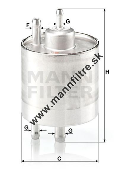 Fram Fuel Filter Application